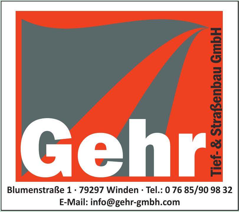 Gehr Tief- & Straßenbau GmbH