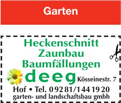 Deeg Garten- & Lanschaftsbau GmbH