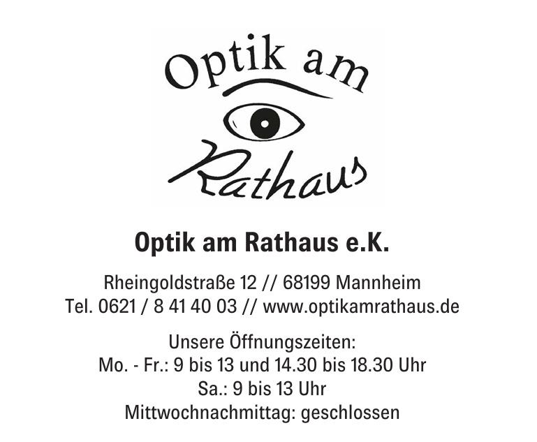 Optik am rathaus e.K.