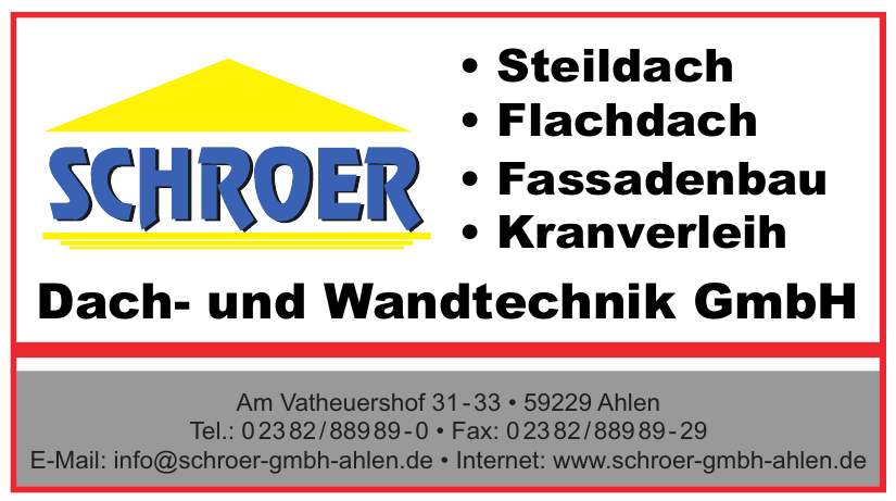 Schroer Dach- und Wandtechnik GmbH