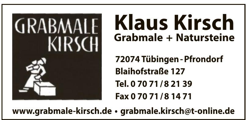 Grabmale Kirsch