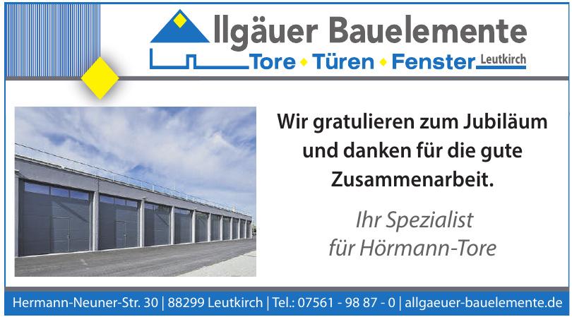 Allgäuer Bauelemente GmbH