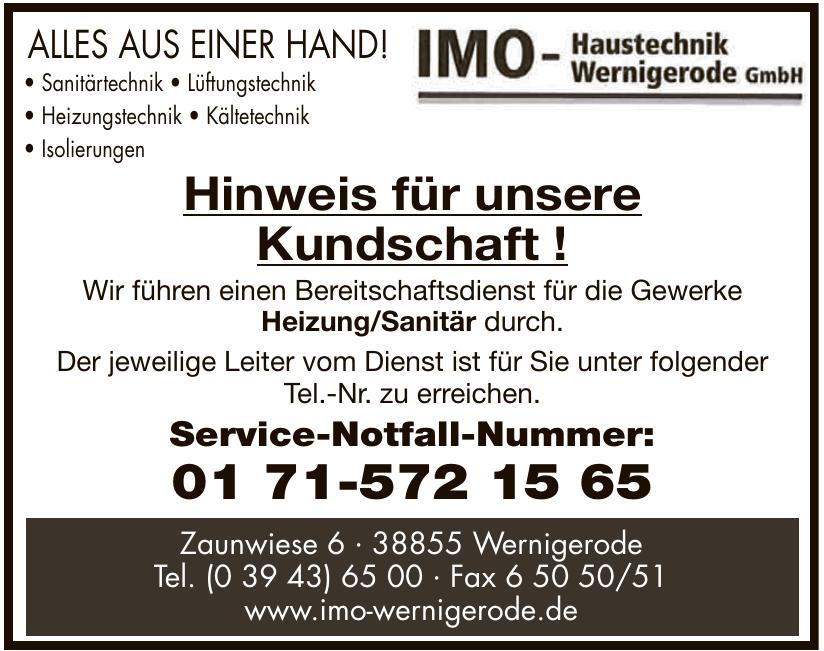IMO - Haustechnik Wernigerode GmbH