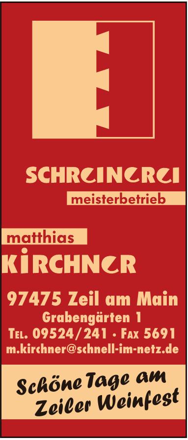 Schreinerei Kirchner