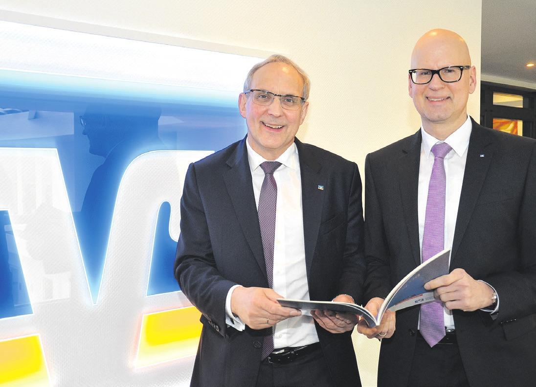 Jürgen Wache (links) und Gerd Zeppei (rechts). Foto: Müller