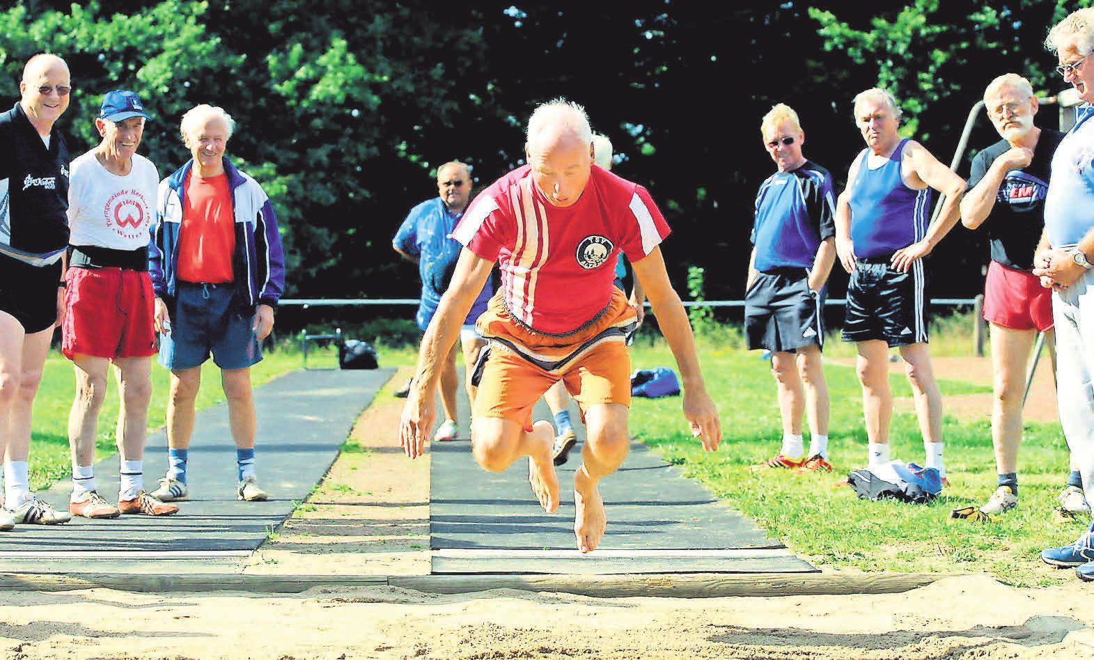 Sport in jeglicher Form tut gut – unabhängig vom Alter.