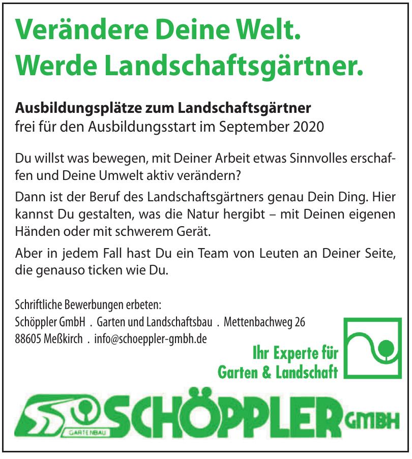 Schöppler GmbH - Garten und Landschaftsbau