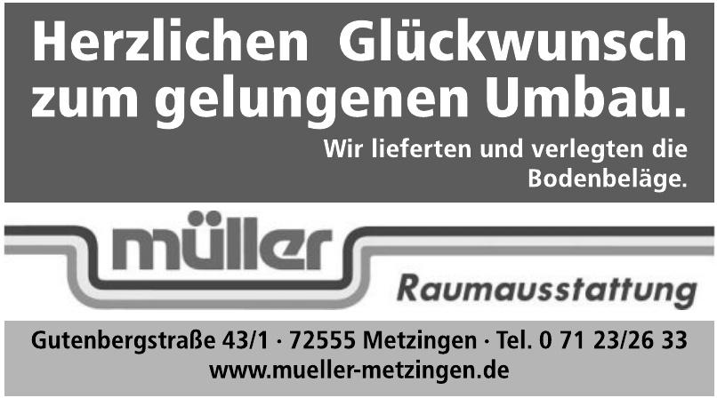 Müller Raumausstattung