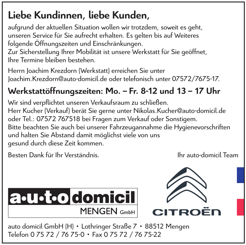auto domicil GmbH