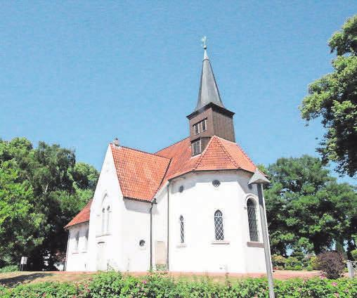 Die Matthias-Claudius-Kirche in Reinfeld.