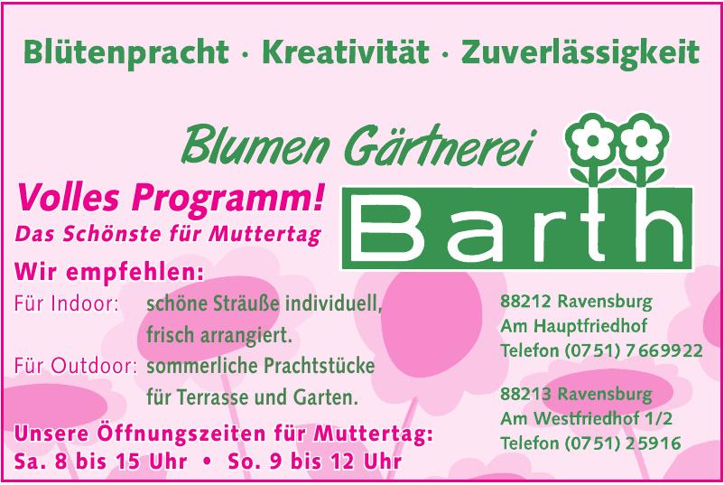 Blumen Gärtnerei Barth