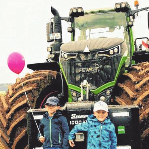 Je größer die Maschinen, desto glücklicher die Kids.