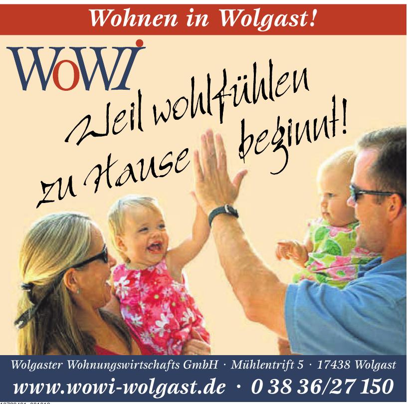 Wolgaster Wohnungswirtschafts GmbH