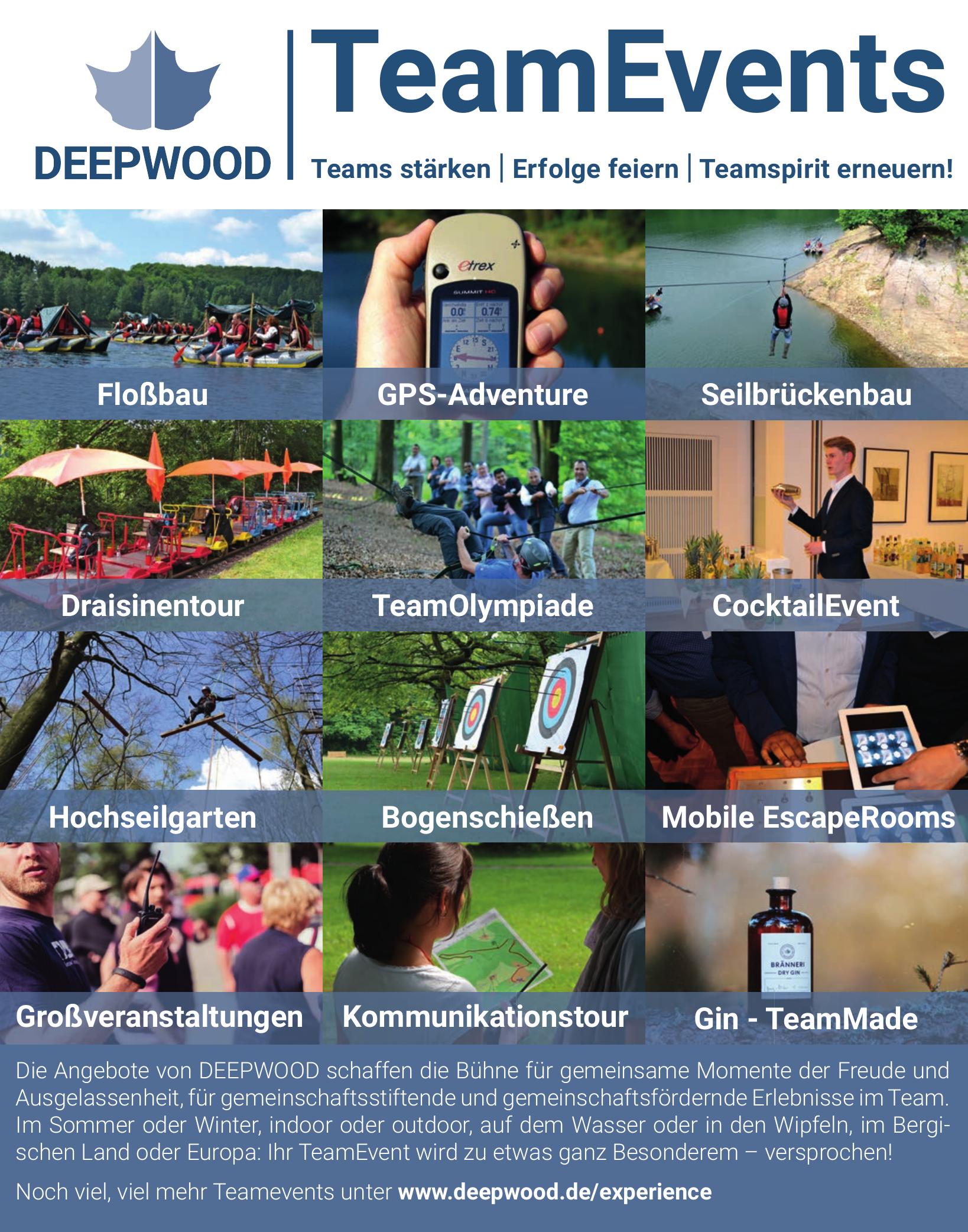 Deepwood TeamEvents