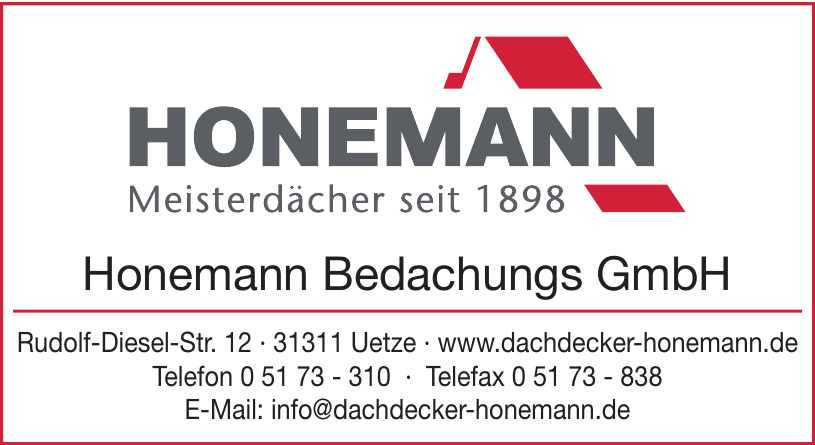 Honemann Bedachugs GmbH