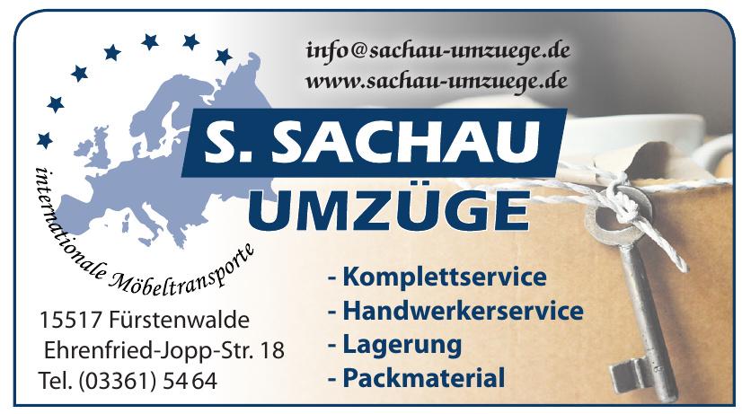 S. Sachau Umzüge