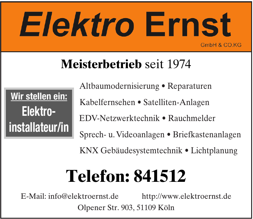 Elektro Ernst GmbH & Co. KG