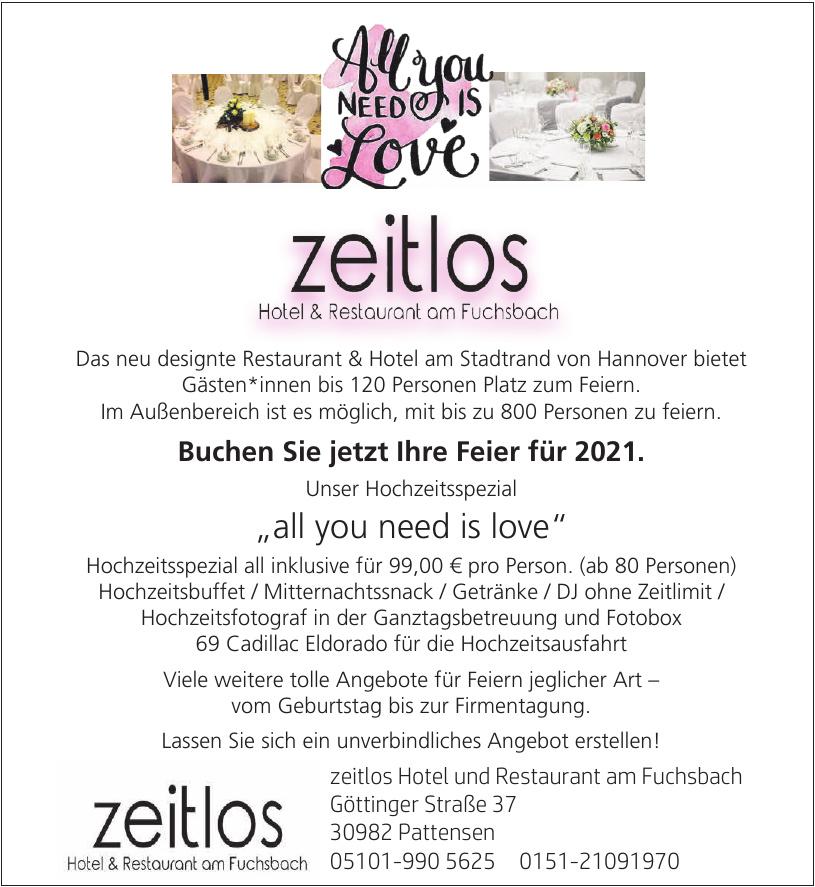 Zeitlos Hotel und Restaurant am Fuchsbach