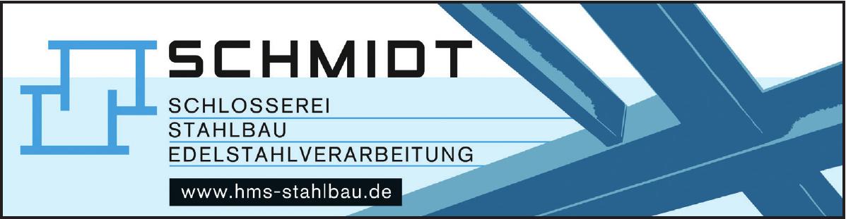 Schmidt - Schlosserei