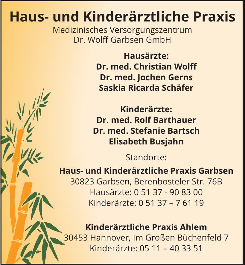 Haus- und Kinderärztliche Praxis Dr. Wolff Garbsen GmbH