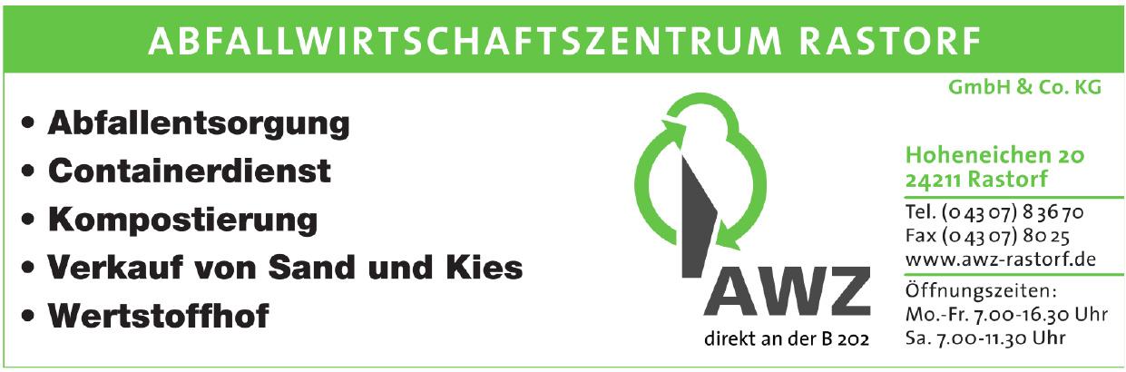 AWZ Abfallwirtschaftszentrum Rastorf GmbH & Co.KG