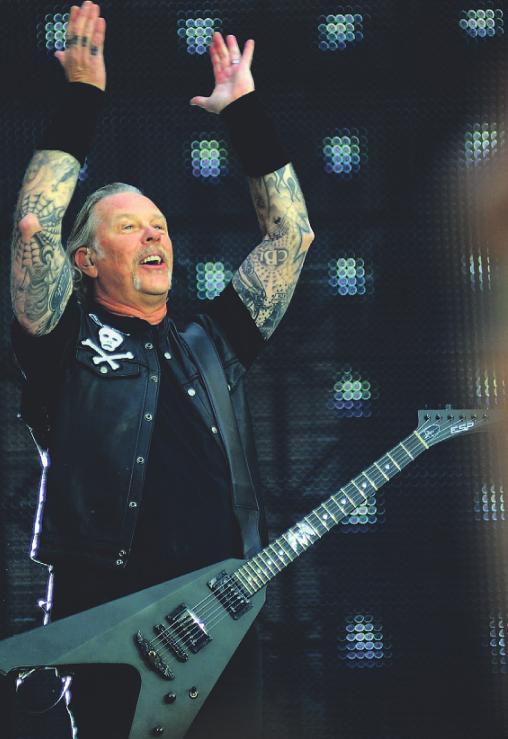"""Metallica gaben im Rheinenergie-Stadion sogar """"Viva Colonia"""" zum Besten.Foto: Peter Rakoczy"""