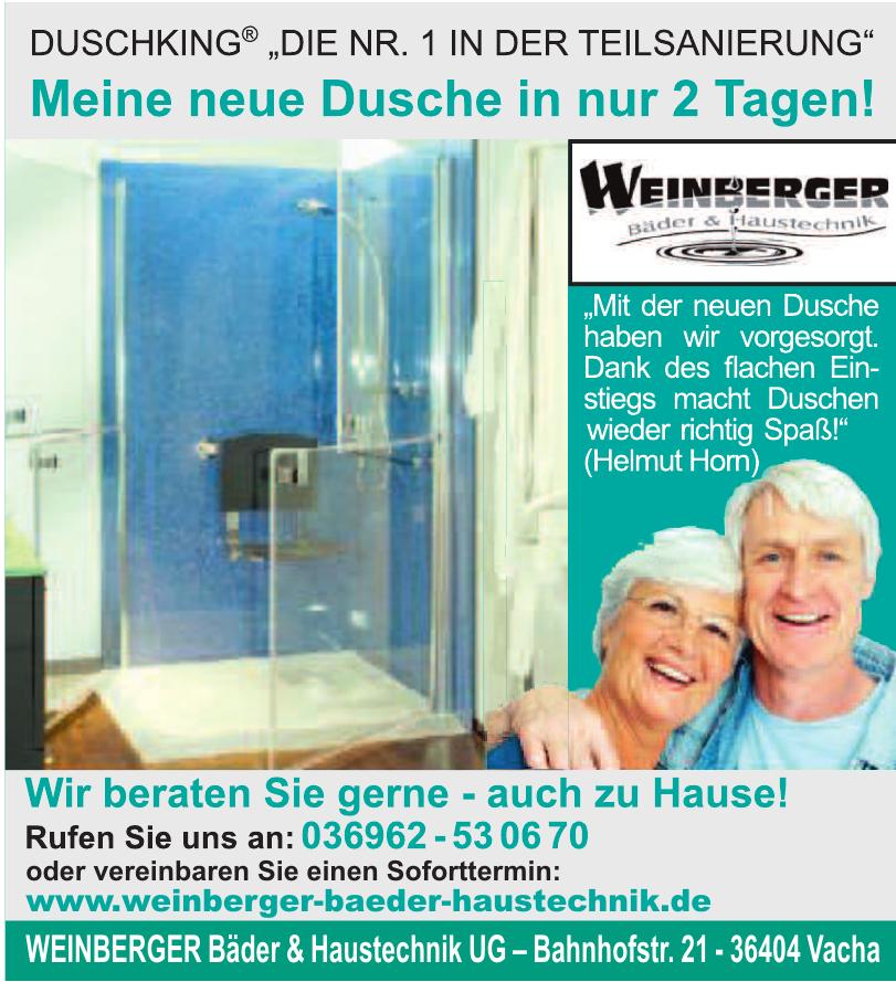 Weinberger Bäder & Haustechnik UG