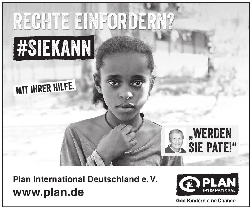 Plan International Deutschland e. V.