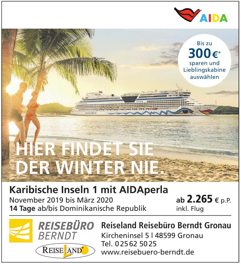 Reiseland Reisebüro Berndt Gronau