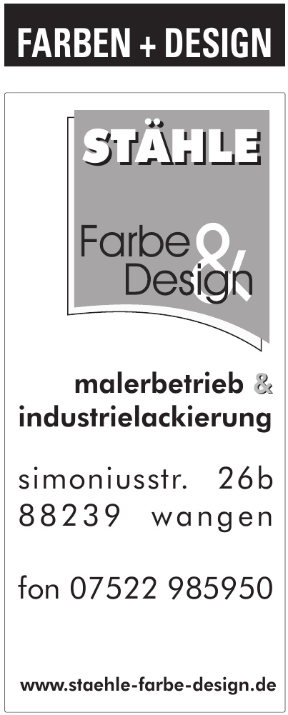 Stähle Farbe & Design