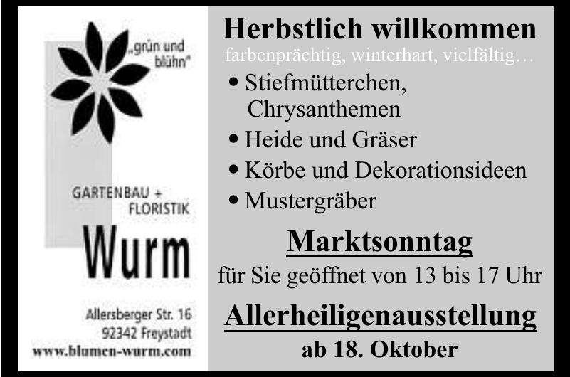 Gartenbau Wurm