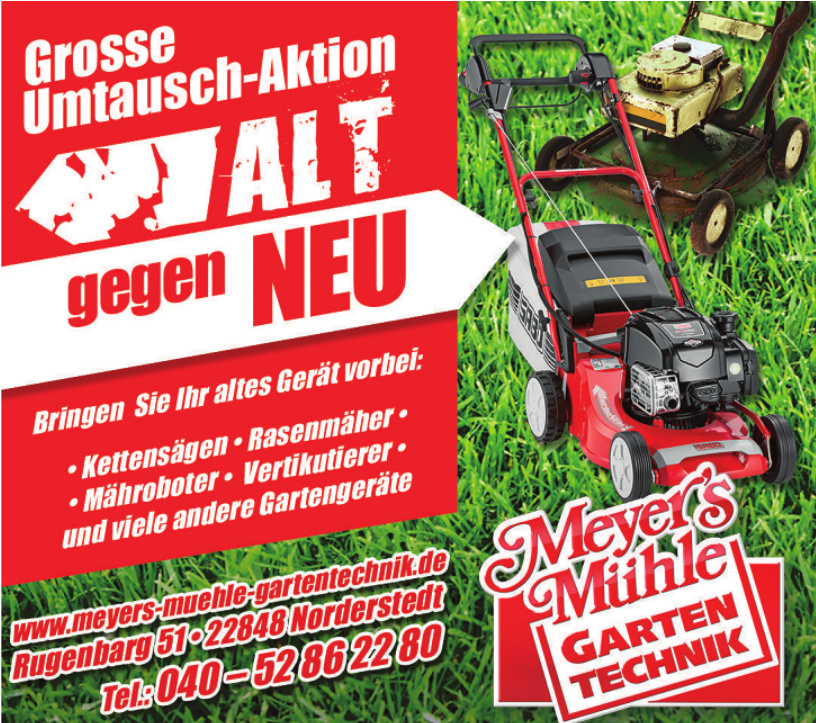 Meyer´s Mühle - Garten Technik