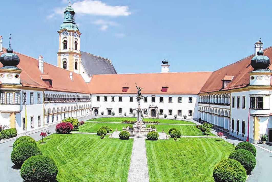Das Augustiner Chorherrenstift in Reichersberg Foto: OÖ Tourismus, Johannes