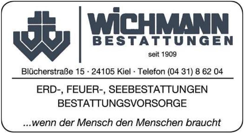 Wichmann Bestattungen