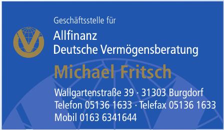 Allfinanz Deutsche Vermögensberatung Michael Fritsch