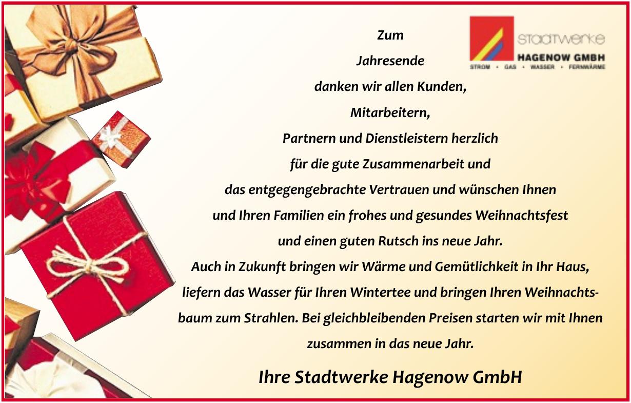 Stadtwerke Hagenow GmbH
