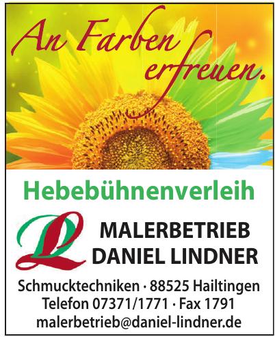 Malerbetrieb Daniel Lindner