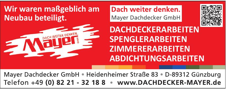 Mayer Dachdecker GmbH