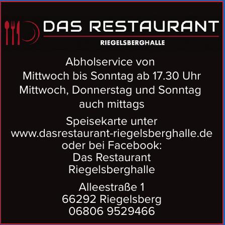 Das Restaurant Riegelsberghalle
