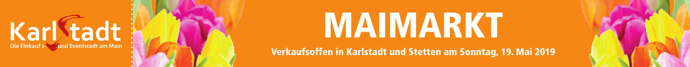 Maimarkt - Verkaufsoffen in Karlstadt und Stetten am Sonntag, 19. Mai 2019 Image 1