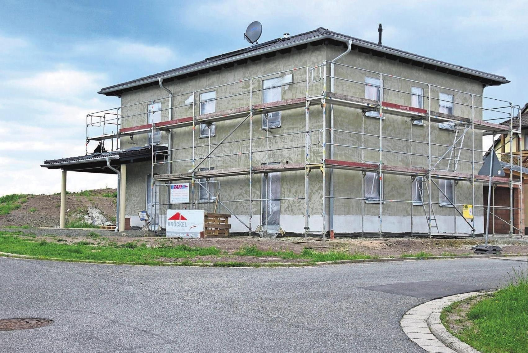 In Weitramsdorf errichtet Kröckel-Bau das individuell geplante Traumhaus der jungen Bauherren.