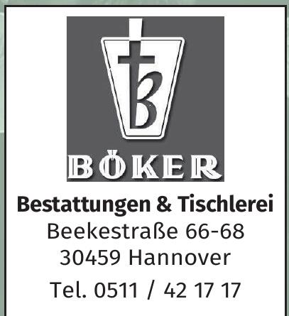 Böker Bestattungen, Tischlerei