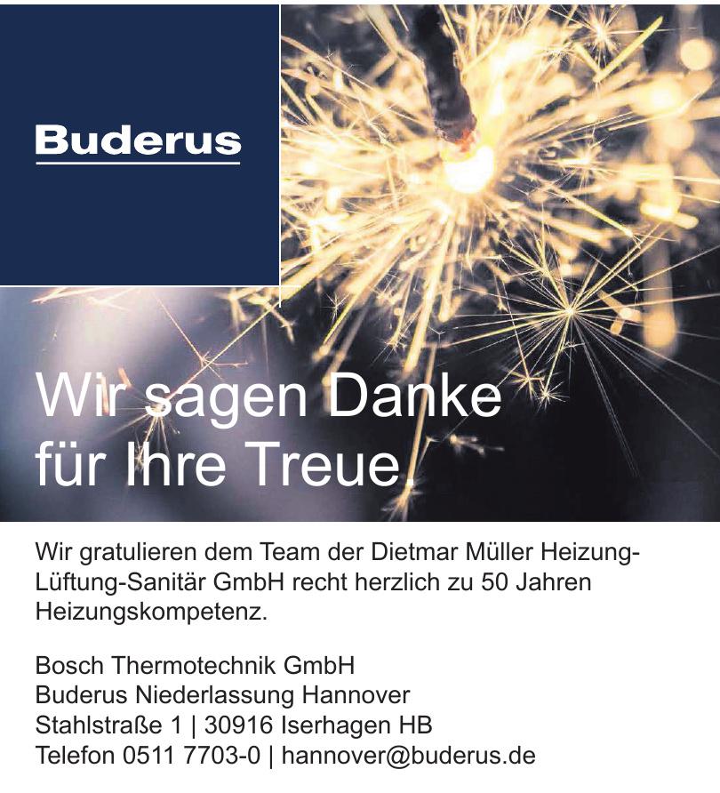 Buderus - Bosch Thermotechnik GmbH