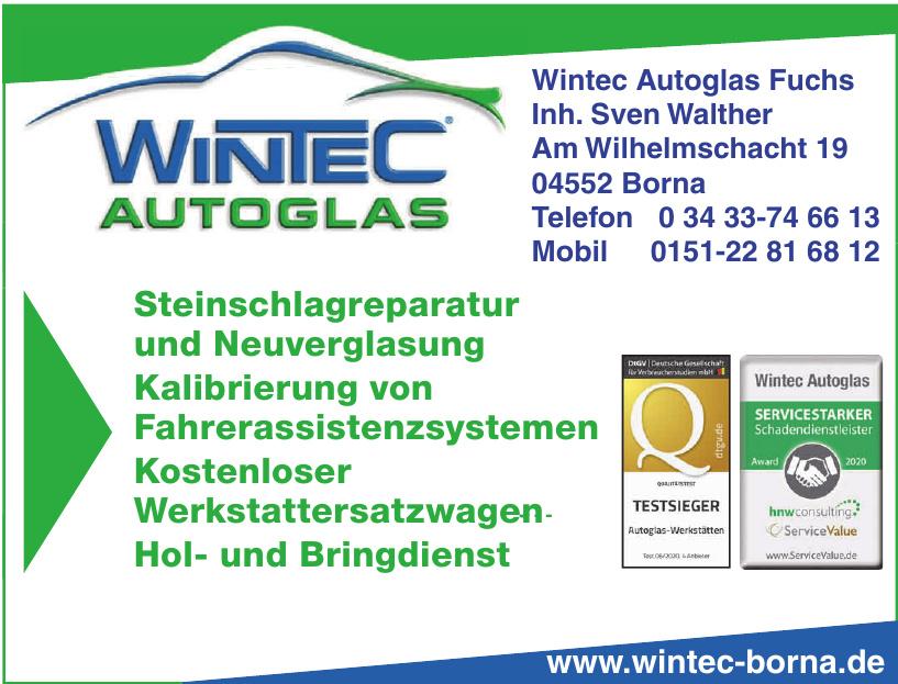 WinTec Autoglas Fuchs Inh. Sven Walther