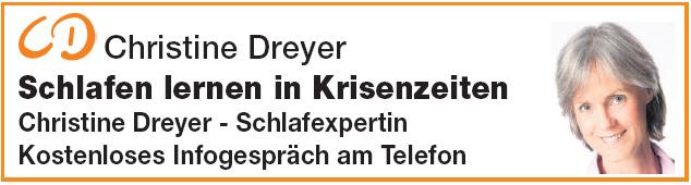Christine Dreyer - Schlafexpertin