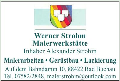 Werner Strohm Malerwerkstätte