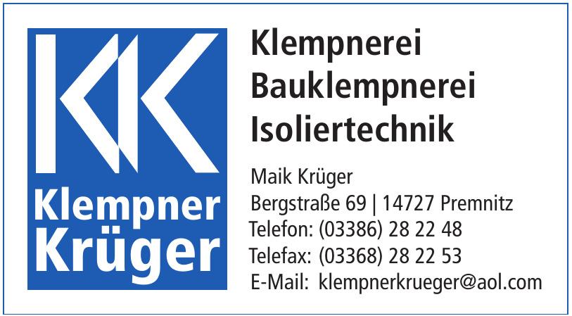 Klempner Krüger