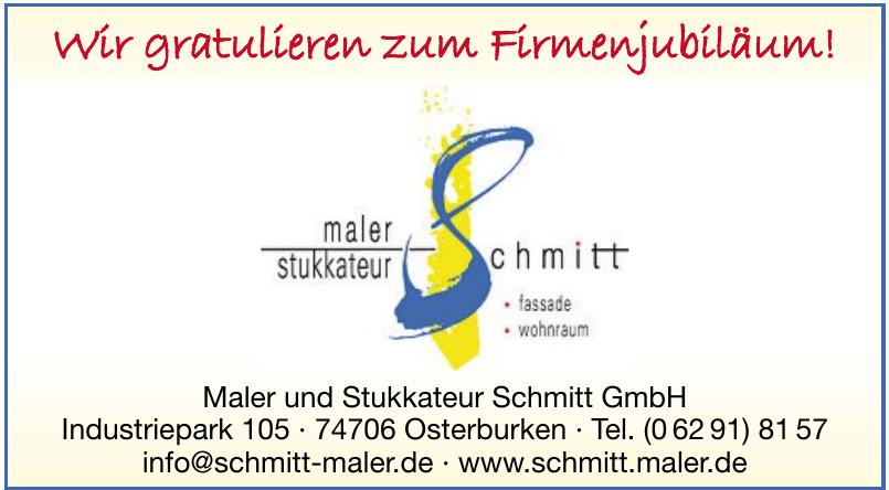 Maler und Stukkateur Schmitt GmbH