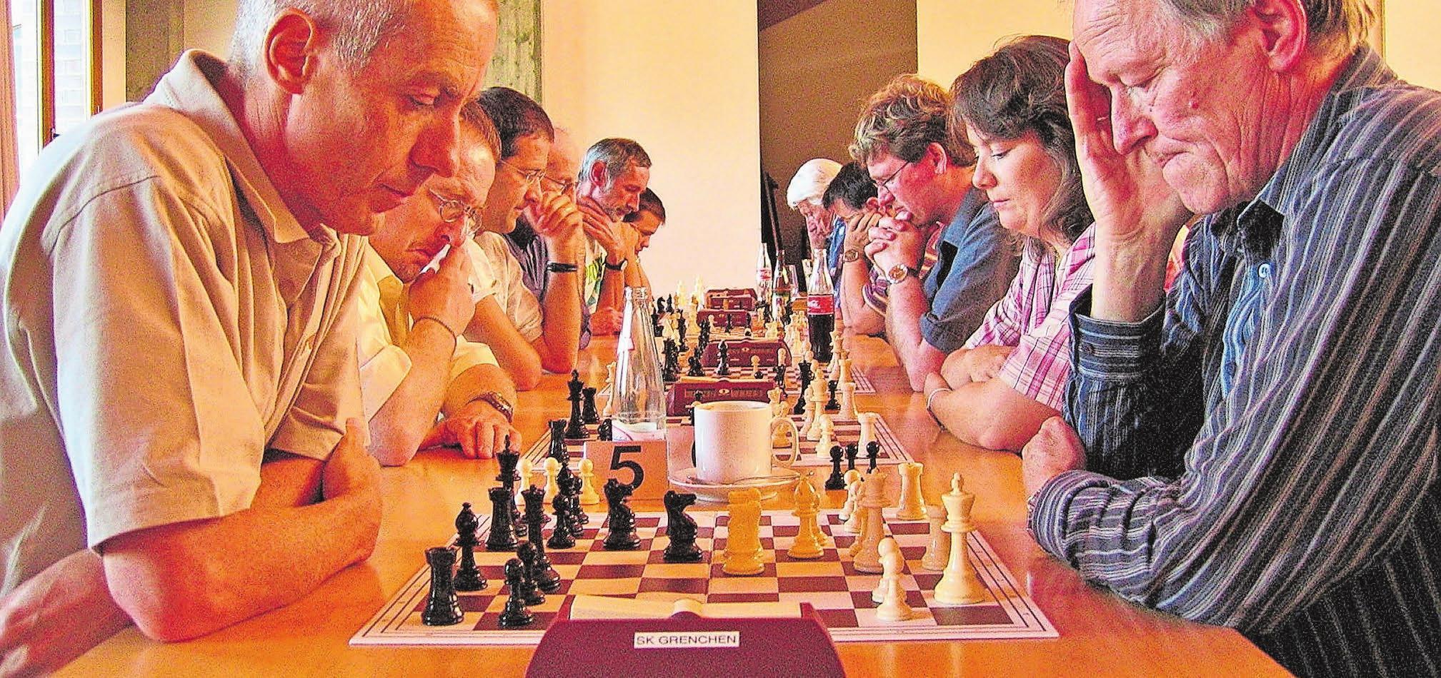 Der Schachklub Grenchen organisiert jährlich zwei grosse Turniere. Bild: zvg