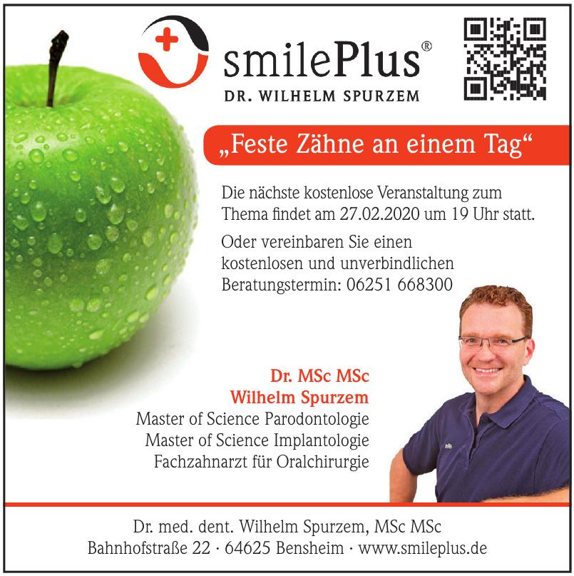 SmilePlus Praxis Dr. MSc MSc Wilhelm Spurzem